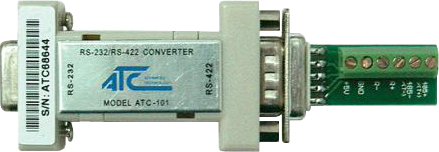 ATC-101 RS422 / RS232 Serial Port Adapter