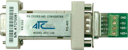 ATC-106 RS485 / RS232 Serial Port Adapter